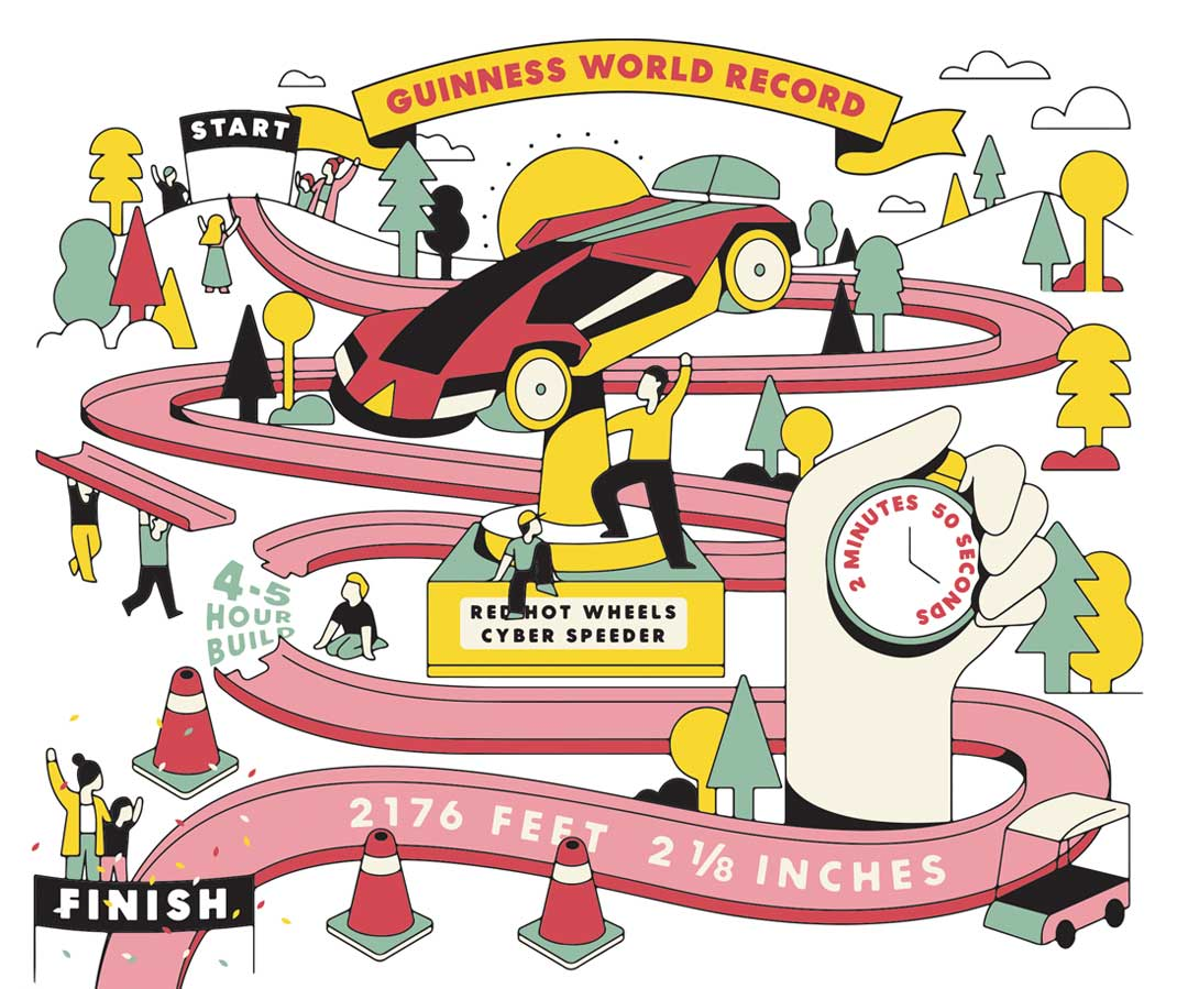 world record illustration