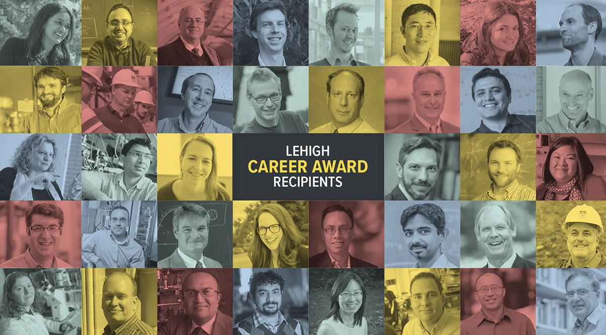Lehigh NSF CAREER Award recipients