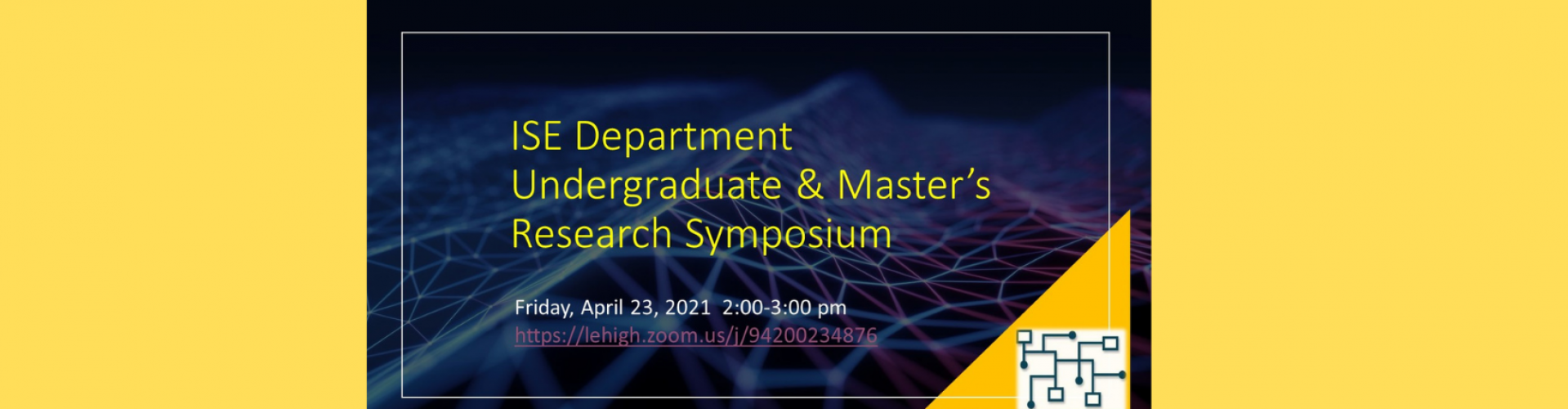 Undergraduate  Masters Research Symposium
