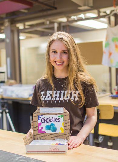 Briana Gardell, founder of Mezzimatic LLC, and Lehigh alum