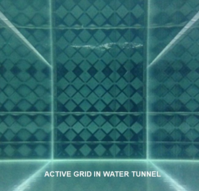 Active Grid Turbulence Generator @ Lehigh