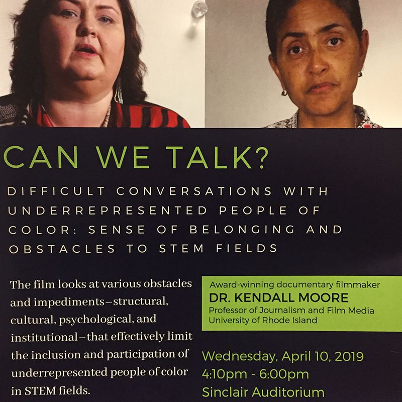 Can We Talk? Difficult Conversations with Underrepresented People of Color: