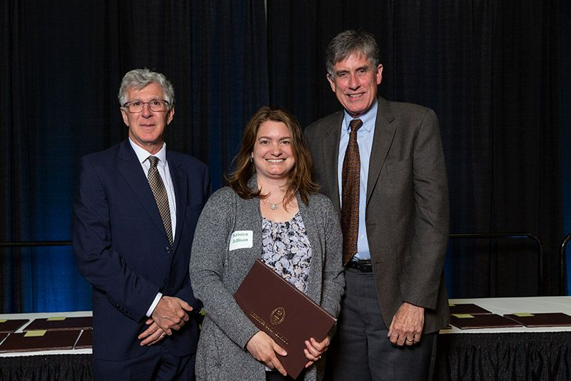 Kristen Jellison at 2019 Lehigh Awards Dinner