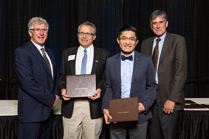 Nelson Tansu at 2019 Lehigh Awards Dinner