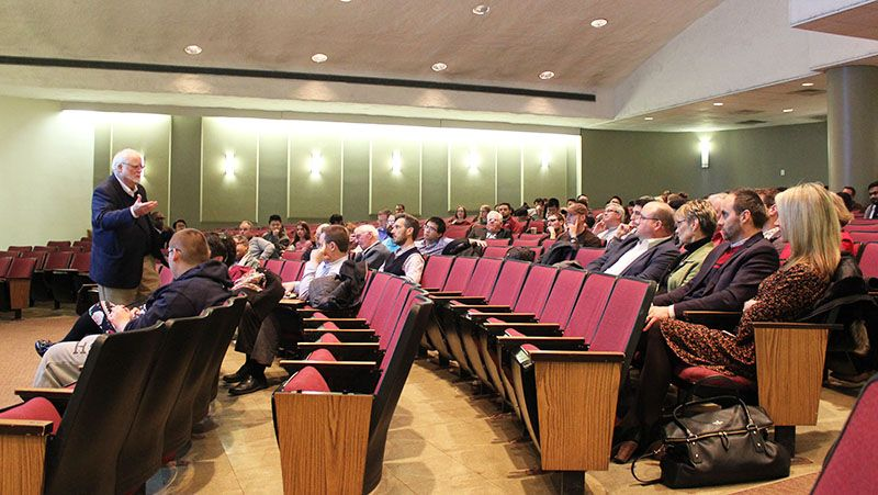 John Ochs exit seminar