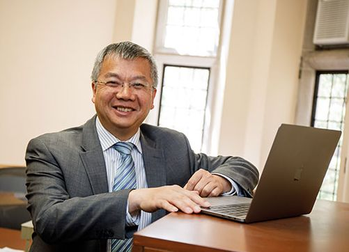 Chengshan Xiao, Professor and Chandler Weaver Chair of the Department of Electrical and Computer Engineering
