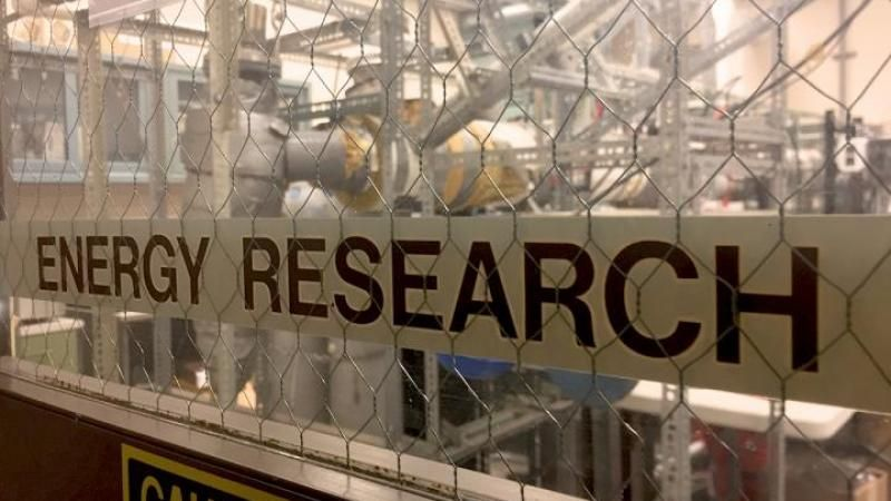 Energy Research sign
