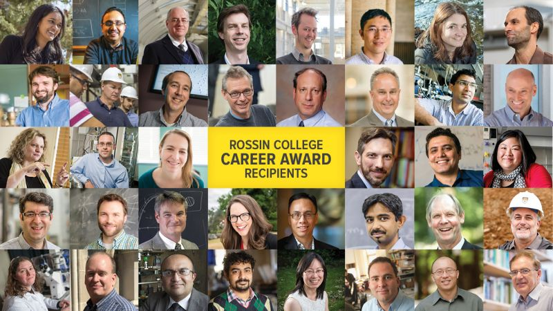 Rossin College NSF CAREER Award recipients