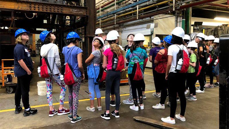 CHOICES students tour ATLSS