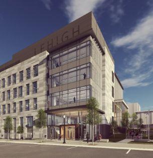 Rendering of HST building