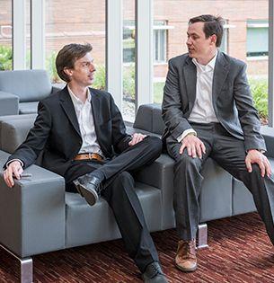 Dr. Nicholas Strandwitz and Dr. Brandon Krick, Lehigh University