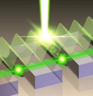phase-locking scheme for plasmonic lasers