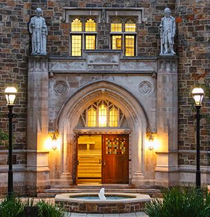 Packard Laboratory, home of the P.C. Rossin College of Engineering and Applied Science at Lehigh University
