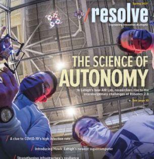 Spring 2021 Resolve magazine cover