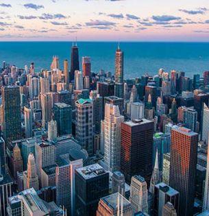 Photo of Chicago skyline by Pedro Lastra on Unsplash