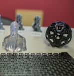 Students can now create 3-D printable materials at Wilbur Powerhouse with metal. (Images by Christa Neu / Lehigh University)
