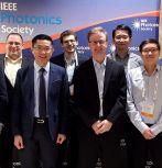 From left to right: Damir Borovac, Eric T. Reid, Nelson Tansu, Austin M. Slosberg, Jonathan J. Wierer, Wei Sun, Chee-Keong Tan and Ioannis E. Fragkos. (Not pictured: Filbert J. Bartoli and Siddha Pimputkar.)