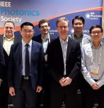 From left to right: Damir Borovac, Eric T. Reid, Nelson Tansu, Austin M. Slosberg, Jonathan J. Wierer, Wei Sun, Chee-Keong Tan and Ioannis E. Fragkos. (Not pictured: Filbert J. Bartoli and Siddha Pimputkar.)