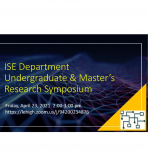 Undergraduate and Masters Research Symposium