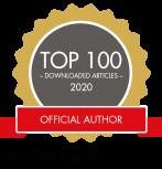 Top 100 Author Badge Scientific Reports
