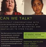 Can We Talk? Difficult Conversations with Underrepresented People of Color