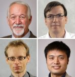 Four ISE faculty members