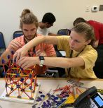 SEI camper building with Knex