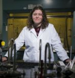 Kelly Schultz, assistant professor of chemical engineering and biomolecular engineering