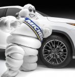 Michelin man with tire