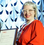 Natasha Vermaak receives award