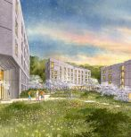 Rendering of New Residential Houses project