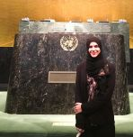 Maryam Khan at UN