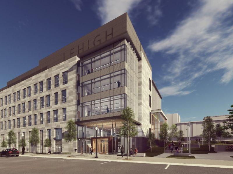 Rendering of HST building exterior