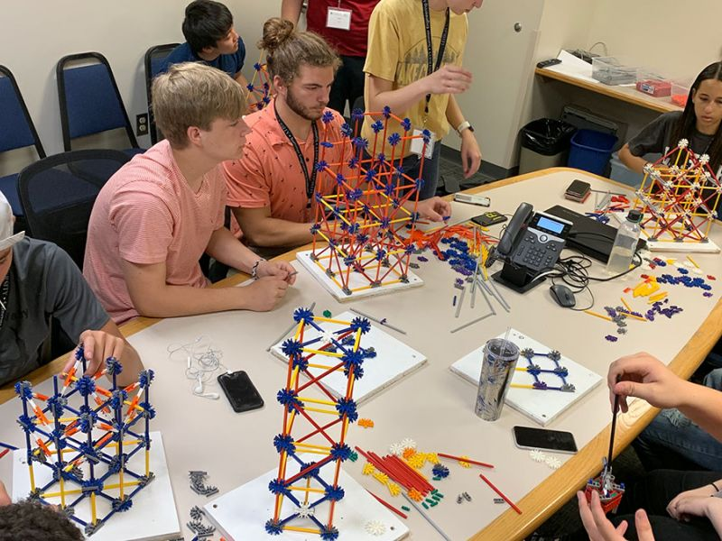 SEI students building with Knex