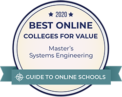 2020 Best Online Master's Systems Engineering Degrees